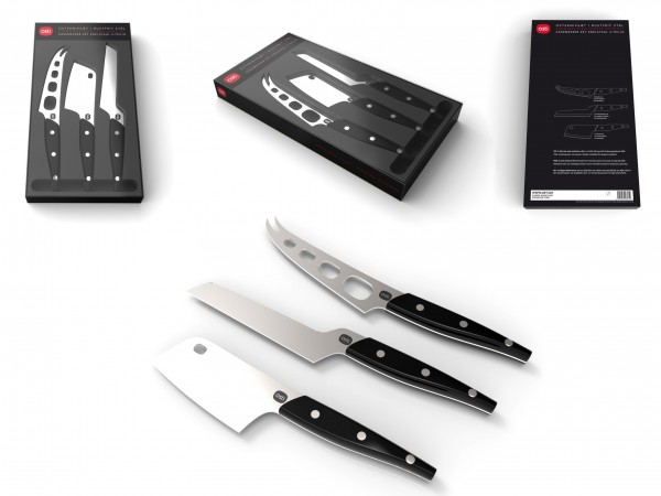 Osti knives and boxes
